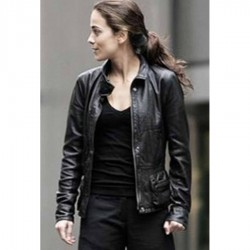 I Am Legend Alice braga (Anna) Black Jacket | Leather Jacket Mens