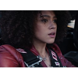 Ramsey Fast and Furious 8 Nathalie Emmanuel Leather Jacket | Women's Leather Jacket Uk