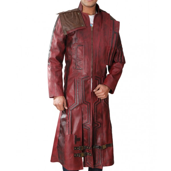 Guardians of The Galaxy 2 Chris Pratt Coat | Men's Leather Jacket Uk