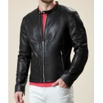 The Serene Black Classic Supersoft Leather Jacket | Men's Leather Jacket