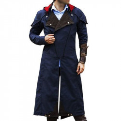 Assassin's Creed Unity Denim Coat | Denim Coat For Men's