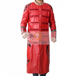 Sting Scorpion Red Leather Coat WWE Wrestlers Jacket | Men's Leather Jacket Uk