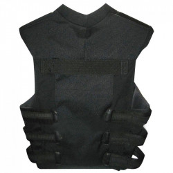 The Punisher Frank Castle Men's Black Leather Skull Vest | Leather Vest For Men's