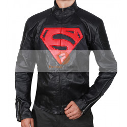 Batman vs Superman Men's Black Leather Jacket | Men's Leather Jacket Uk