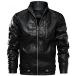 Retro Leather Motorcycle Jacket | Riding Jackets For Mens