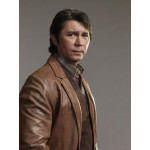 Longmire: Lou Diamond Phillips Brown Jacket | Brown Leather Jacket