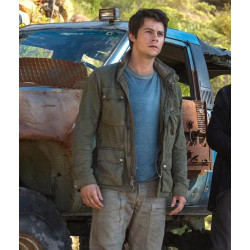 Dylan O'Brien Maze Runner Movie Cotton Jacket | Men's Leather Jacket Uk