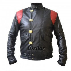 Akira Kaneda Pill Black Biker Leather  Jacket | Akira Kaneda Capsule Black Biker Leather Jacket