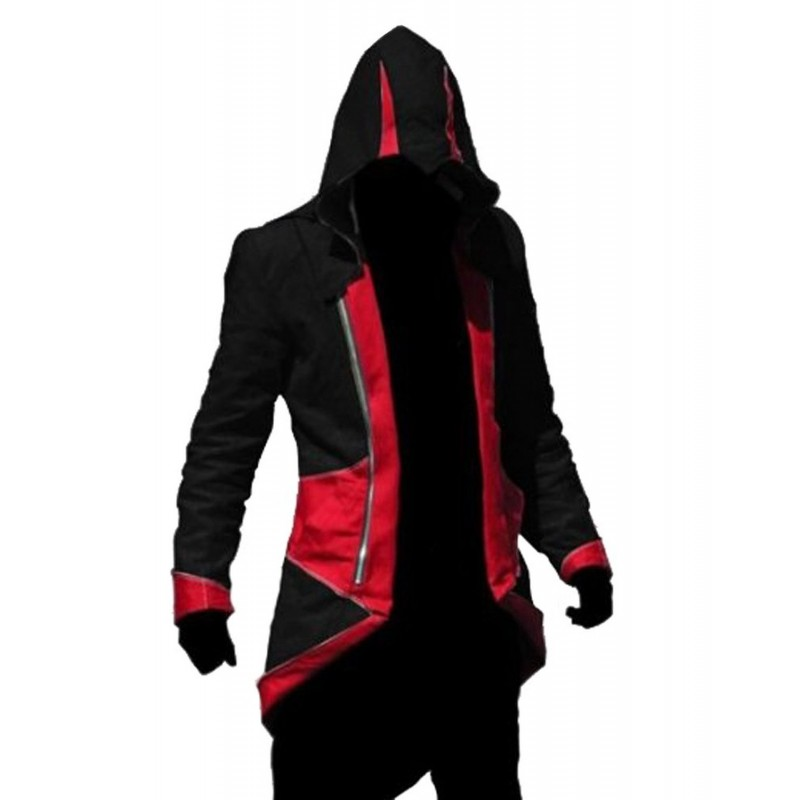 Buy Assassin S Creed Iii Connors Red Black Cosplay Jacket