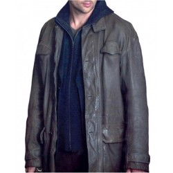 Bourne Supremacy Kirill Leather Coat | Mens Long Leather Jackets