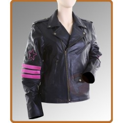 Bret Hitman Hart Leather Jacket | Black Leather Jackets