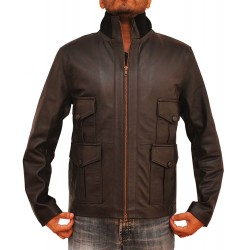 Daniel Craig (James Bond) Casino Royale Jacket | Black Leather Jacket