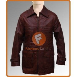 Daniel Craig (Tuvia Bielski) Defiance Leather Jacket | Mens Long Jacket