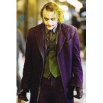 The Dark Knight Joker Coat | Purple Heath Ledger Coat for Sale