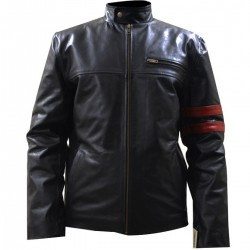 DEATH SENTENCE KEVIN BACON BLACK JACKET | KEVIN BACON LEATHER JACKET FOR MENS