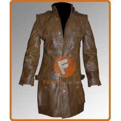 Grant Bowler (Chief Lawkeeper) Defiance Jacket Costume | Mens Leather Costume