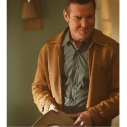 DENNIS QUAID (SHERIFF RALPH LAMB) VEGAS BROWN JACKET | Brown Leather Jacket Mens