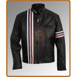 Easy Rider Peter Fonda Jacket | Leather Biker Mens Jacket