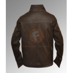 From Paris with Love: John Travolta Brown Leather Jacket | Brown Leather Jackets