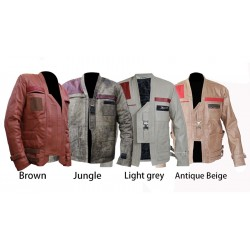 THE FORCE AWAKENS STAR WARS FINN (JOHN BOYEGA) JACKET | Mens Leather Jacket