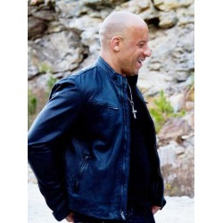 Furious 7 Vin Diesel Leather Jacket | Leather Jacket For Men's