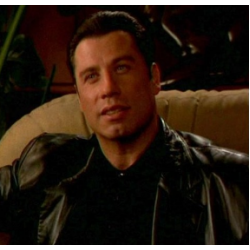 Get Shorty John Travolta Black Jacket | Leather Jacket Mens UK