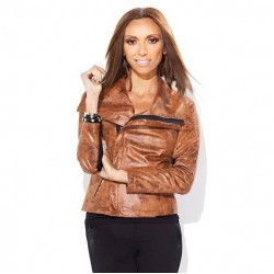Giuliana Rancic Express Limited Edition Distressed Jacket | Womens Leather Jacket