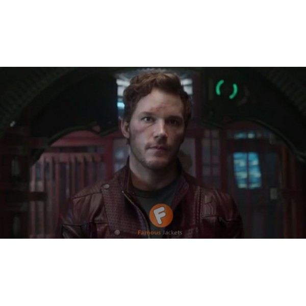 Guardians of the Galaxy Chris Pratt Leather Jacket | Star Lord Leather Jacket