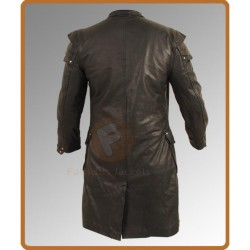 Hansel & Gretel Witch Hunters Jeremy Renner Coat | Real Leather Trench Coat