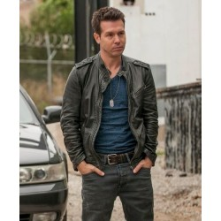Jon Seda (Detective Antonio Dawson) Chicago P.D  Jacket | Black Leather Jacket