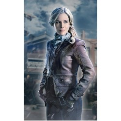 Julie Benz (Amanda Rosewater) Defiance Brown Jacket | Womens Leather Jackets UK