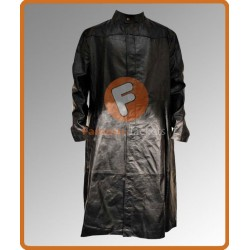 Keanu Reeves (Neo) Matrix Reloaded Costume | Long Leather Coats