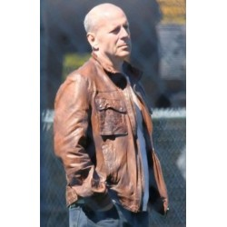 Looper Bruce Willis (Joe) Distressed Brown Jacket | Men's Leather Jackets