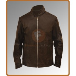 Magneto Classical Brown Leather Jacket | Men's Leather Jacket Uk