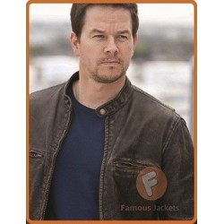 Mark Wahlberg Contraband Distressed Jacket | Mark Celebrity Jacket For Sale