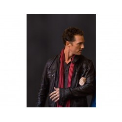Matthew McConaughey The Ghosts of Girlfriends Past Jacket | Leather Jacket Mens