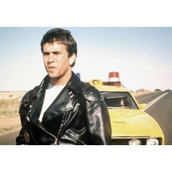 Mel Gibson Mad Max Biker Jacket | Motorcycle Black Leather Jacket