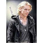 Mortal Instruments Jamie Campbell Bower (Jace) Black Leather Jacket | Men's Leather Jacket