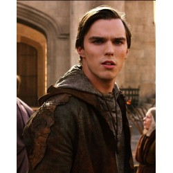 Nicholas Hoult Jack The Giant Slayer Leather Jacket | Brown Leather Jacket