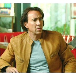 Nicolas Cage Next (Cris Johnson)  Jacket | Mens Leather Jacket Sale