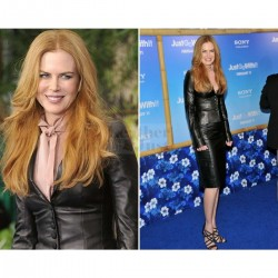 Nicole Kidman Just Go With It Premier Black Jacket | Women Black Leather Jacket