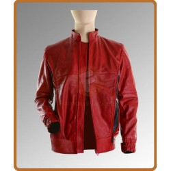 The Place Beyond the Pines Ryan Gosling Red Jacket | Leather Jackets For Men UK