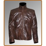 Planet Terror Freddy Rodriguez Distressed Leather Jacket | Mens Leather Jacket