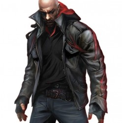 Prototype 2 James Heller Real Leather Jacket | James Heller Black Leather Jacket