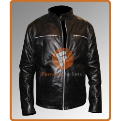 RIPD Kevin Bacon Black Jacket | Leather Jacket For Men's