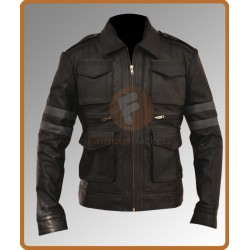 Resident Evil 6 Leon Kennedy Leather Jacket | Mens Leather Jacket