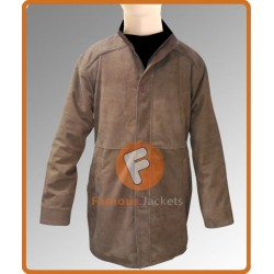 Robert Taylor As Sheriff Walt Longmire Coat | Brown Leather Coat