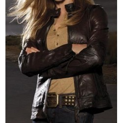 Saving Grace Holly Hunter Jacket | Women's Leather Jacket For Sale