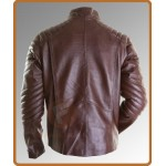 Smallville Superman Inspired Brown Leather Jacket | Super Hero Jackets