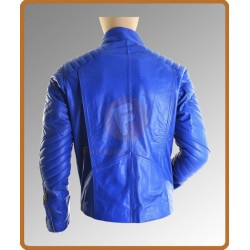 Superman Man Of Steel Blue Jacket | Superman Jacket Costume